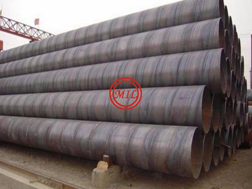 EN 10217-7 L415MB SAWH WELDED STEEL PIPE