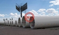 ASTM A572 GR.50,ASTM A595 GR70,S355J0H  STEEL TUBULAR TOWER, WIND TURBINE TOWER