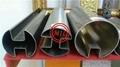 ASTM A554/EN 10296-2 Stainless Steel Slot U Pipe