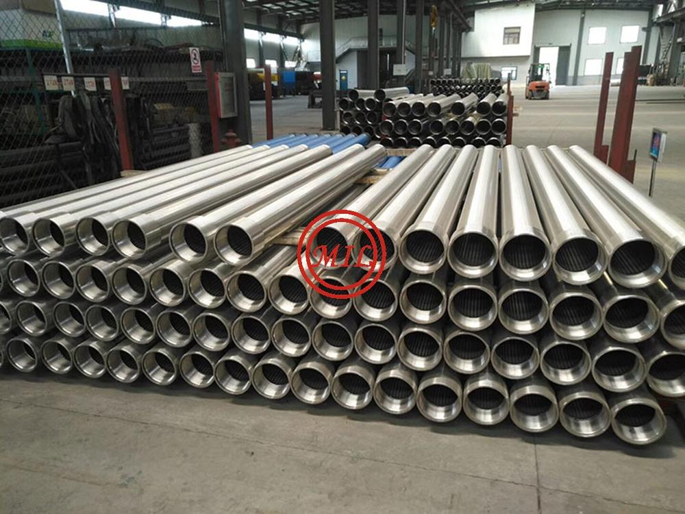 WIRE WEDGE SCREEN PIPE