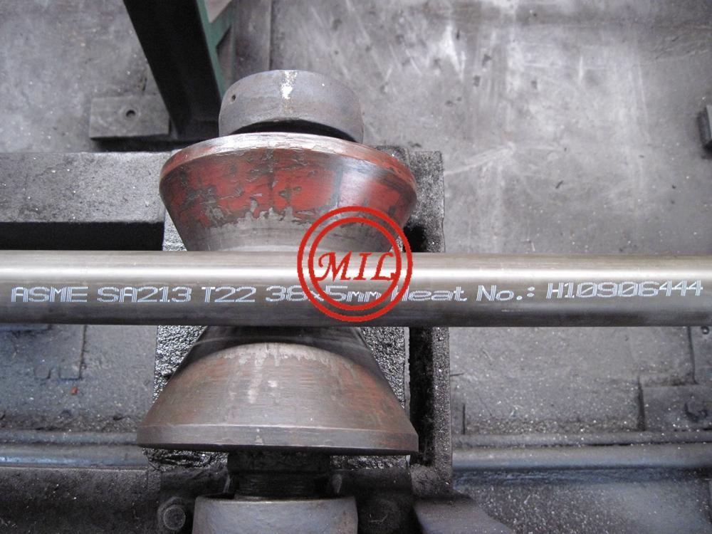 ASTM A213/ASME SA213 T5,T11,T22, T91,DIN 17175,DIN 10216-2 Heat Exchanger Tube 12