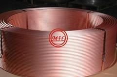 ASTM B280, ASTM B743,EN-12735, JISH-3300 Level Wound Coiled Copper Tube