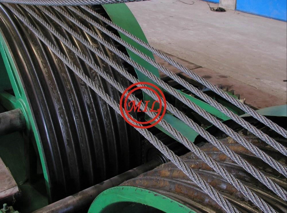 ASTM A416,ASTM A421,BS 5896,EN10138,AS 4672 Prestressed Concrete Strands 10