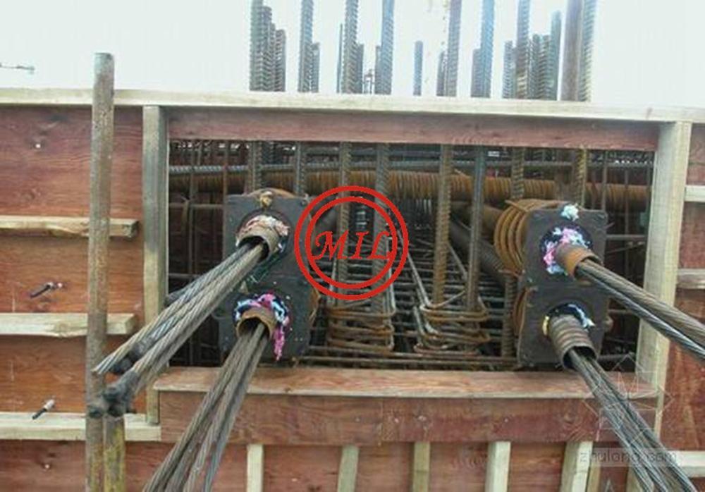 ASTM A416,ASTM A421,BS 5896,EN10138,AS 4672 Prestressed Concrete Strands 13