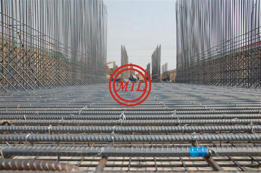 BS 4449,ASTM A615,ASTM A775,ISO 14654 FUSION BONDED EPOXY COATED REBAR/DEBAR 13