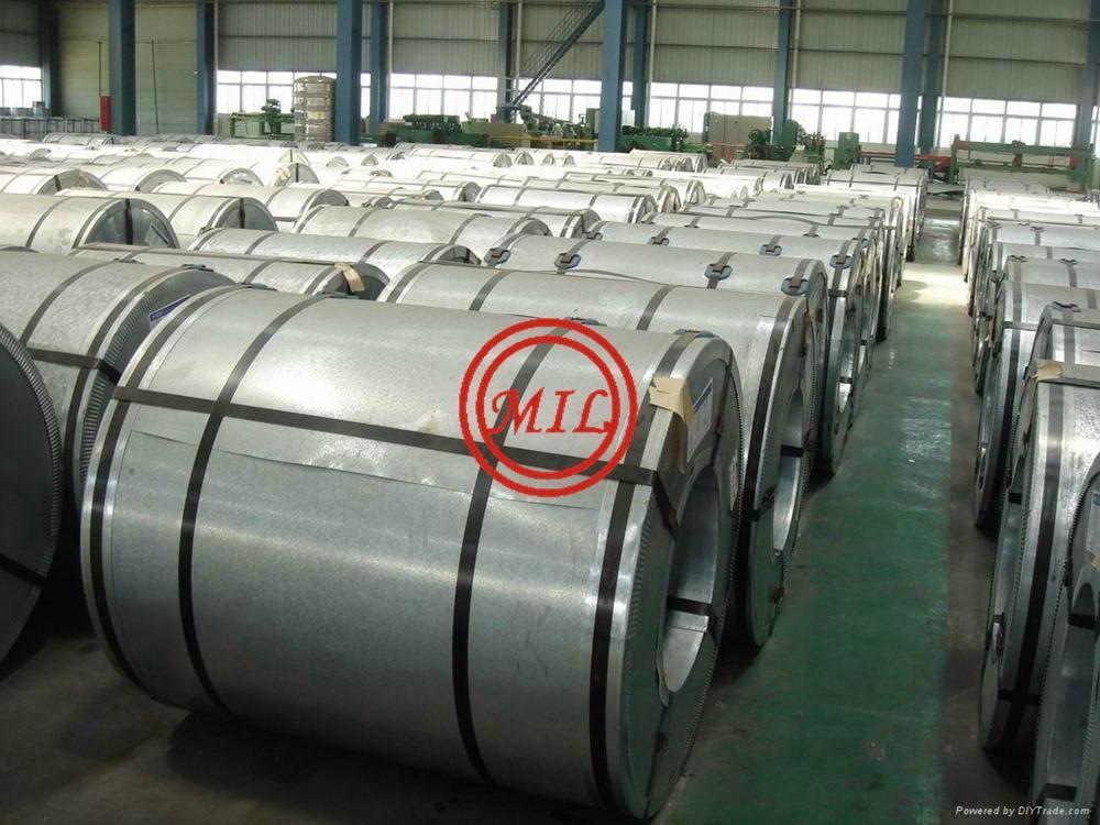 EN 10142,EN 10147JIS G3302,ASTM A653,ASTM A525 Galvanized Steel Coils/Sheets 6