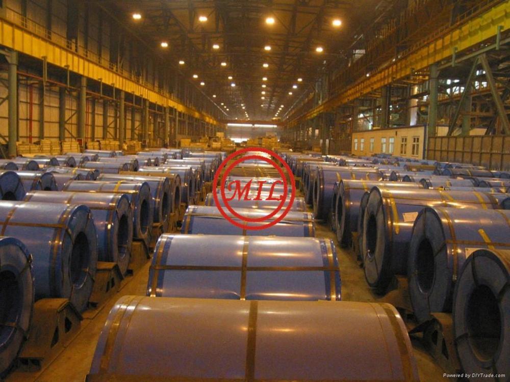 ASTM A526/JIS G3312 EN10326/EN10142 Hot Dip Zinc-Aluminum Coated Steel Sheet  9