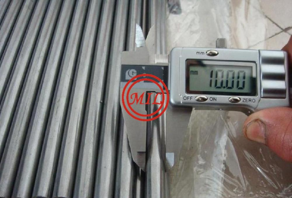 S45c C45 AISI1045 DIN Ck45 DIN C45 SAE 1045 Cold Drawn Steel Precision Tube