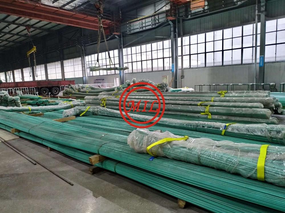 BS 4449 460B/B500B,ASTM A615 G60S/G40S Epoxy Coated Rebars