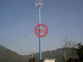 ASTM A595,DIN 4131,BS 8100 Communication Pole,Antenna Monopoles
