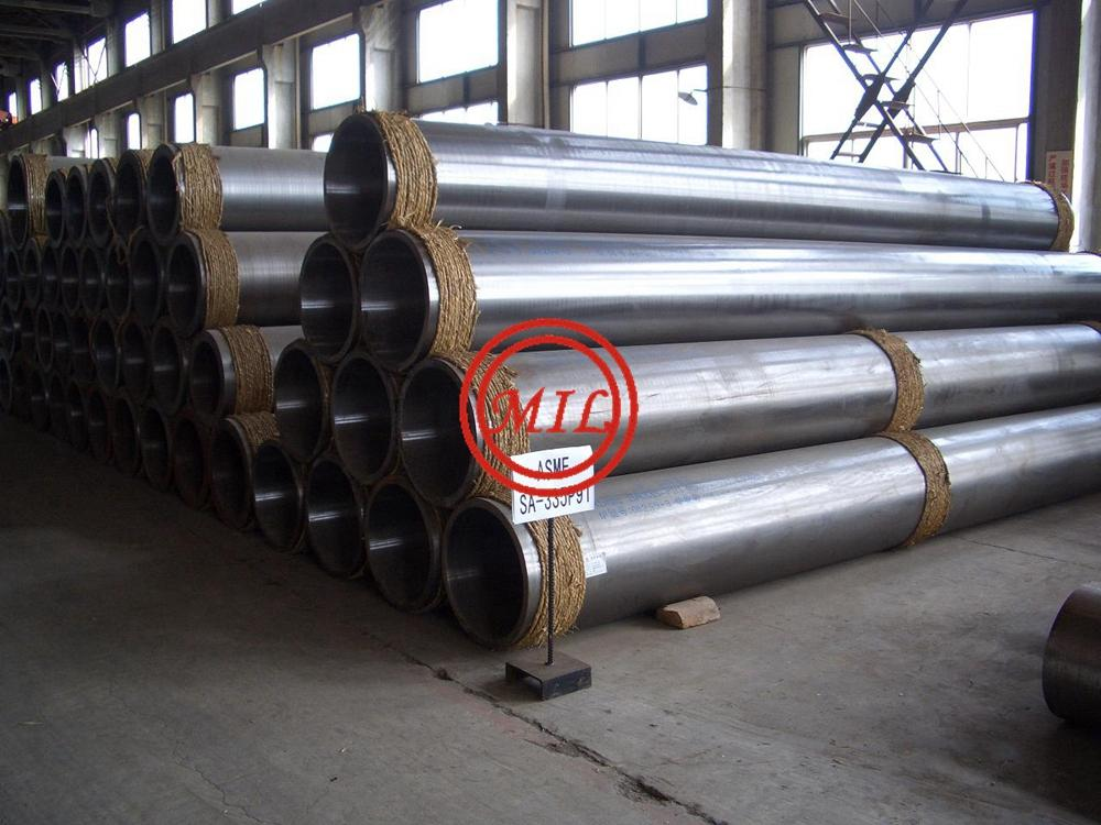 ASTM A335 P91 SEAMLESS STEEL PIPE FOR HEAT EXCHANGER AND CONDENSER