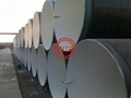 AWWA C205-00 Cement-Mortar Protective Lining+NFA 49-710/DIN 30670  External 3 layer Polyethylene Coating