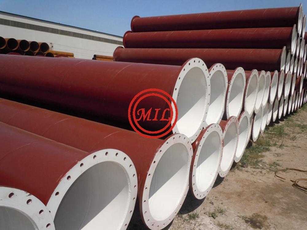 ASTM A252,AWWA C200,AS 1579,EN10025-2,EN10219-1 FLANGED STEEL PIPE,DREDGED PIPE 7