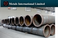 ASTM A252,AWWA C200,EN10025-2,EN10219-1 FLANGED STEEL PIPE,DREDGED STEEL PIPE