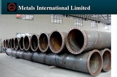 ASTM A252,AWWA C200,EN10025-2,EN10219-1 FLANGED STEEL PIPE,DREDGED STEEL PIPE