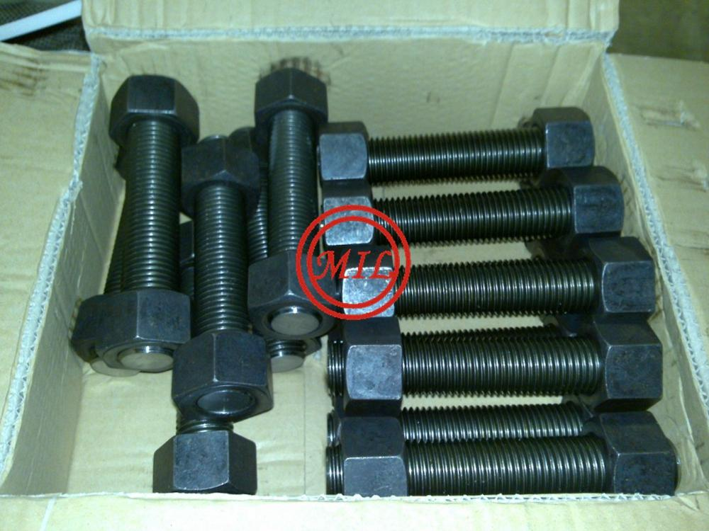 Stud Bolts and Nuts in Carbon Steel-ASTM A193 B7/ASTM A194 2H