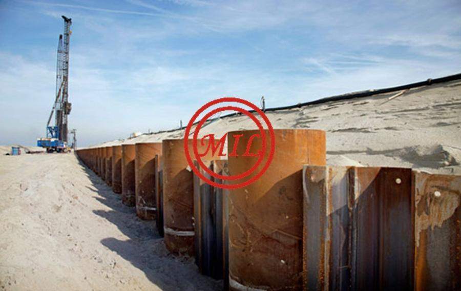 Combi Wall Tubular-Sheet Piles