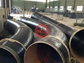 API 5L X65 PSL2+DIN 30670 FBE+PE TAPES WRAPPED INDUCTION BENDS
