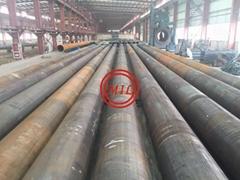 ASTM A252,AS1163 C350L0, API 5L X65,EN10208,EN10219 LSAW STEEL PIPE PILES
