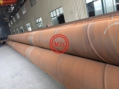 ASTM A252,AS 1163,AS 1579,AWWA C200,EN10025-2,EN10219-1 Steel Tubular Piles