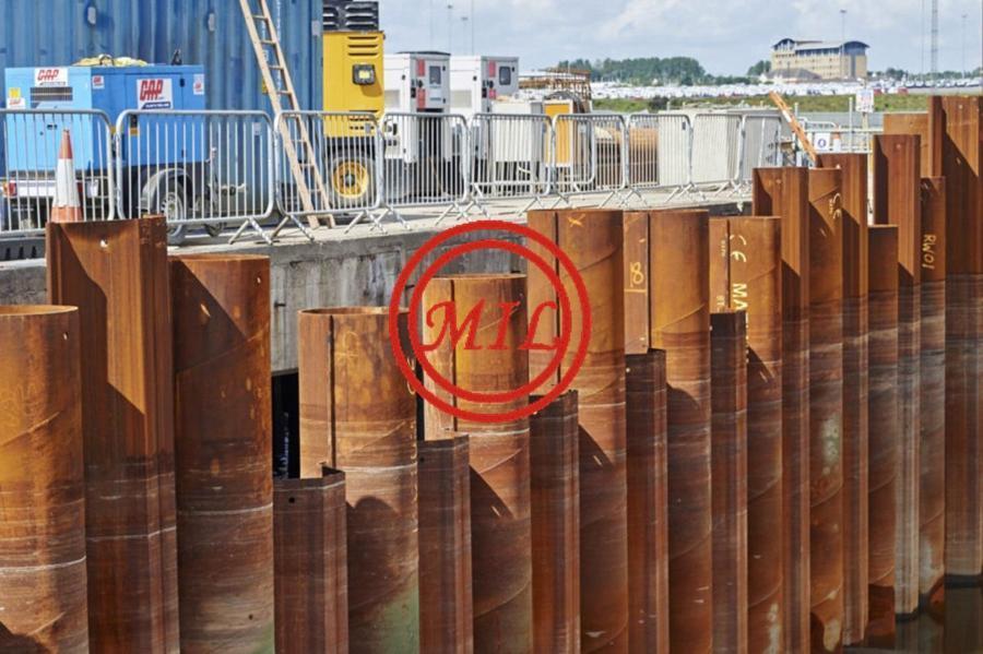 Combi Wall Tubular-Sheet Piles