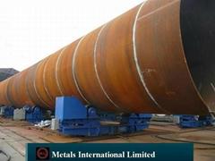 钢管桩,桩管-ASTM A252,AS 1163,EN 10219-1,JIS 5525