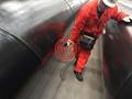 AS 1163 C350+AS 1750/ISO 12944 Interzone 954 Black Painted SAWH Steel Pipe Pile
