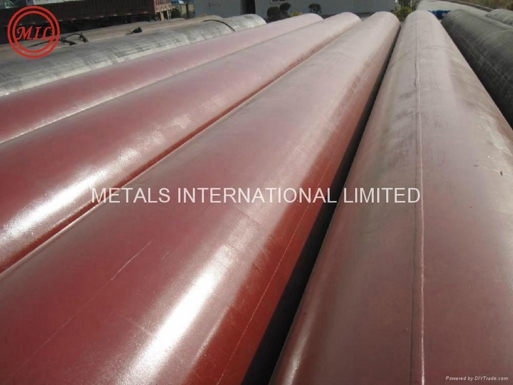 API 5L X42/AS 1163 C350 RED ANTI-RUST SAWL STRUCTURAL STEEL PIPE
