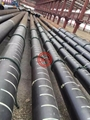 ASTM A252,AS 1163 C350,EN10219 S355,EN 10225,JIS A5525 Foundation Pile,Pipe Pile