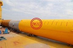 ASTM A572 GR50,API 5L X65,EN10219 S355JOH,S420MH STEEL PIPE PILE,MONOPILE (Hot Product - 1*)