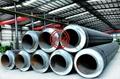 AWWA C203,AWWA C205,DIN 30673 Bitumen/Epoxy Zinc Rich Coated Steel Water Pipe