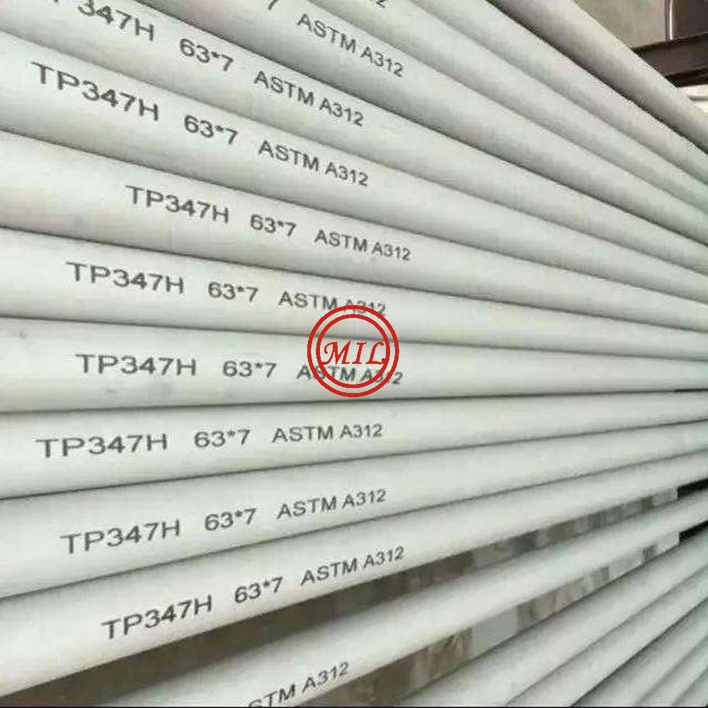 ASTM A312 TP347H SEAMLESS STAINLESS STEEL TUBE
