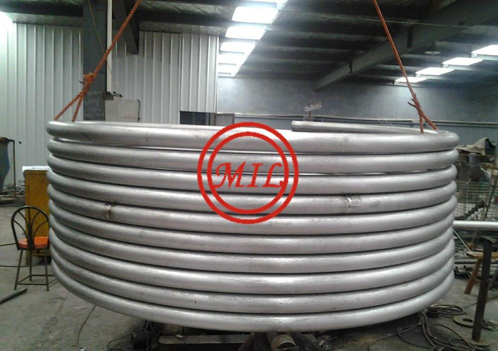 ASTM A269 TP304/TP304L SEAMESS STAINLESS STEEL COILED TUBE