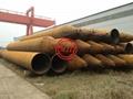 ASTM A252,AS 1163,AS 1579,EN10025-2,EN10219-1,DIN 17120 Steel Tubular Piles