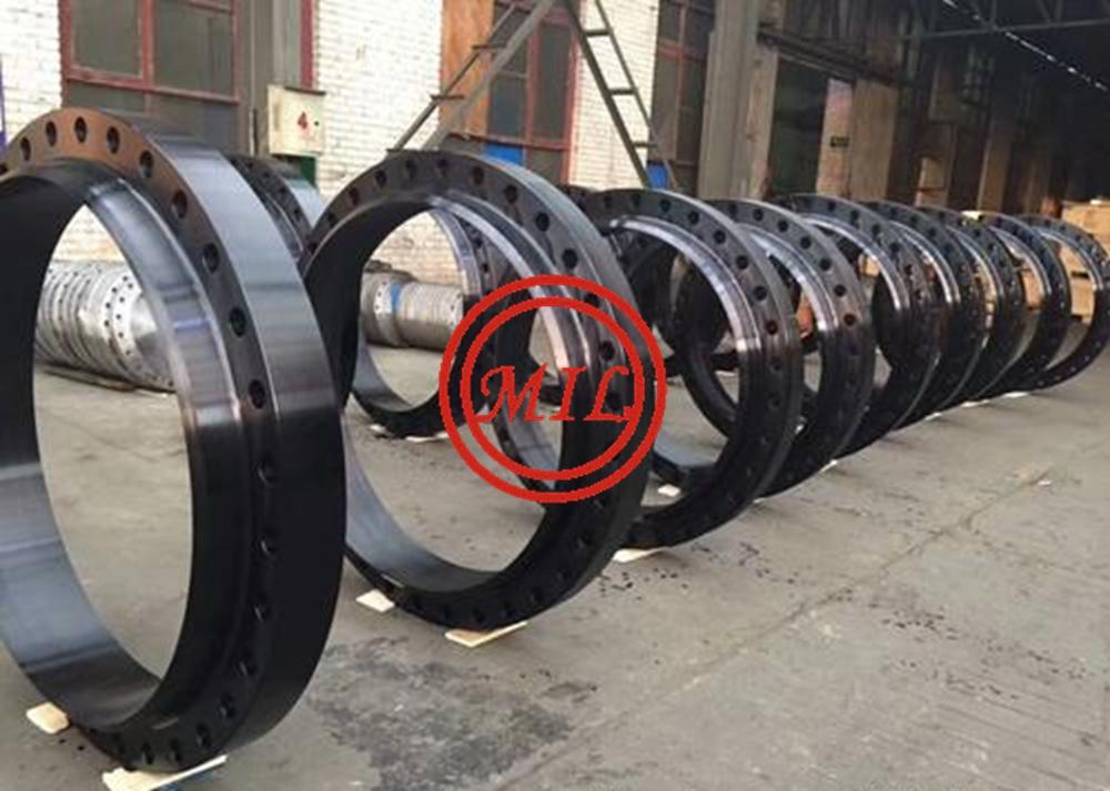 ASTM A105 EPOXY COATED/GALVANIZED/NYLON/TEFLON FLANGE - China -