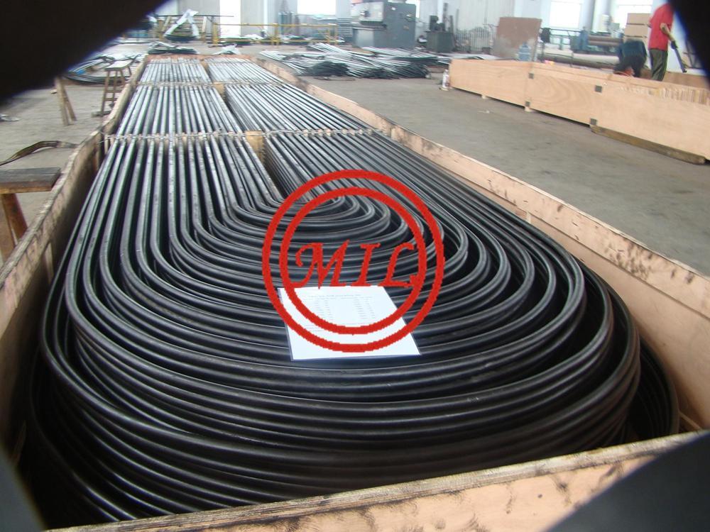 ASTM A192 SEAMLESS STEEL U-TUBE FOR SUPERHEATER