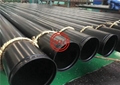 ASTM A795  ROLL GROOVED ERW BLACK PIPE