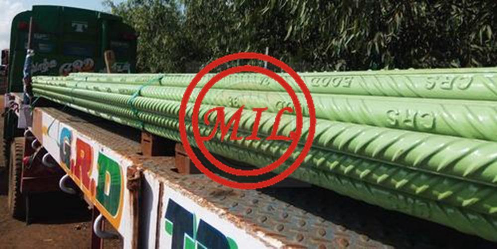 BS ISO 14654 Epoxy Coated Rebars