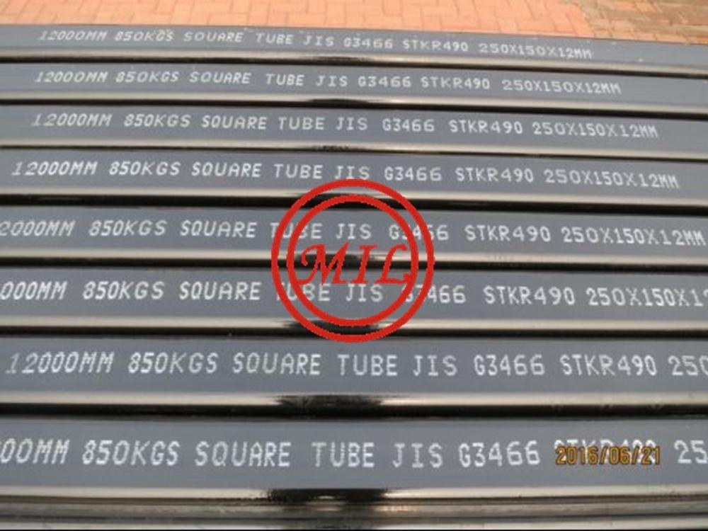 JIS G3466 STKR490 SQUARE TUBE