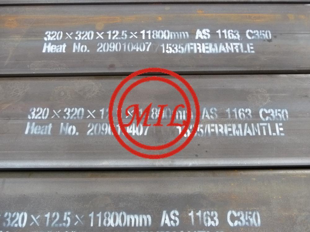 AS 1163 C350 SHS