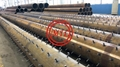 ASTM A252,EN10025-2,EN10219-1,DIN 17120,BS 3601,DIN 1626 PILING PIPES WITH STUDS