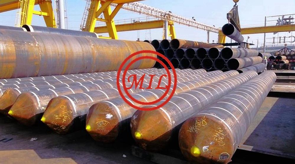 尖頭型鋼管樁-ASTM A252,AS 1163,EN 10219-1,JIS 5525 6
