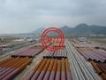 AS 1163,EN10219-1 S355+AS 1750/ISO 12944 STEEL PIPE PILES WITH FBE/3LPE COATING