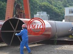 環氧噴塗鋼管樁-ASTM A252,AS 1163,EN 10219-1,JIS 5525