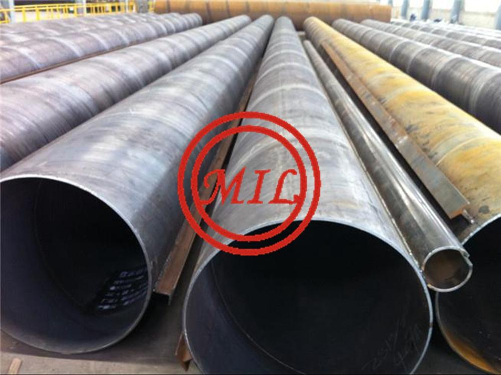 ASTM A252,JIS A5525,EN 10219-1 TUBULAR PILES(KING PILES) WITH CONNECTORS