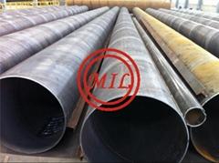 ASTM A252,JIS A5525,EN 10219-1 TUBULAR