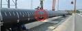 ASTM A252 GR.3 PIPE PILES+ISO 12944 INTERZONE 954 EPOXY RESIN COATING