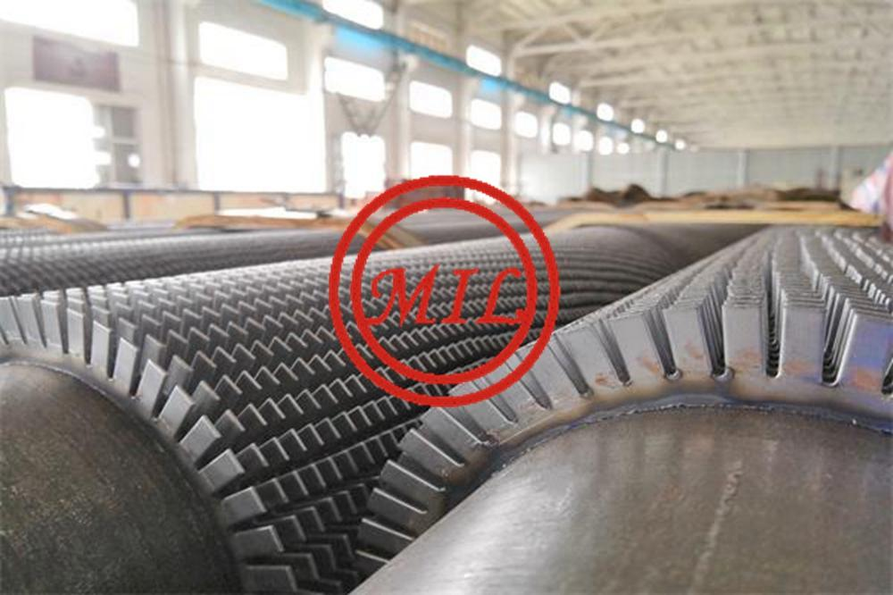 High Frequency Welded Serrated Fin tube & Tubos aletados