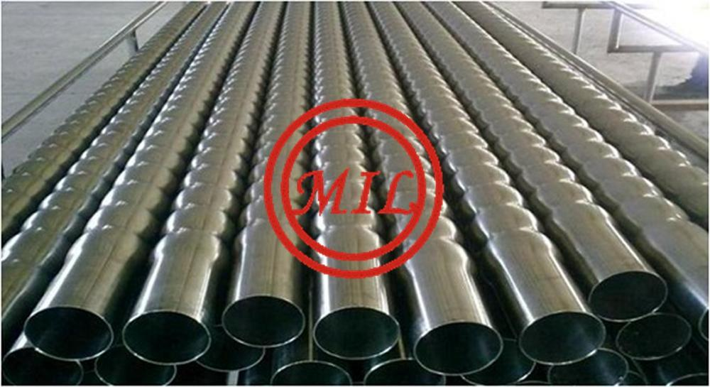 CORRUGATED ALUMINUM FINNED TUBE