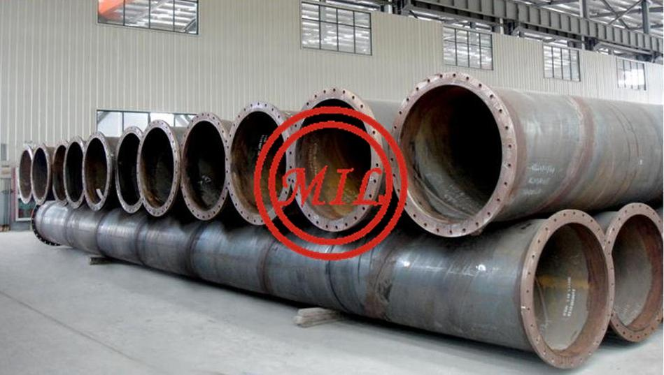 ASTM A252 GR.3 FLANGED SPIRAL WELDED PIPE